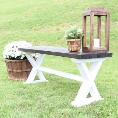 How to Build a DIY Wood Bench from Inexpensive 2x4s