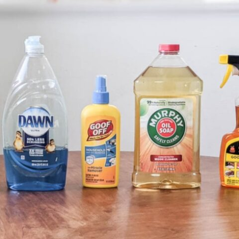 cleaning products for stencils
