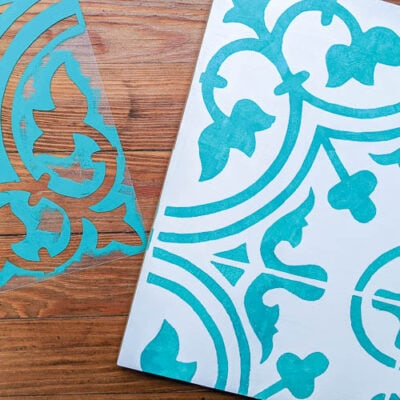 How to make a stencil the cheap and easy way