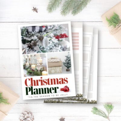 Free Printable Christmas Planner for a Stress-Free Holiday